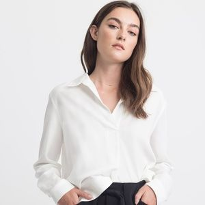 Modern Citizen Kennah Relaxed Collar Blouse